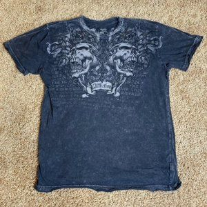Monarchy Shirt Double Skull